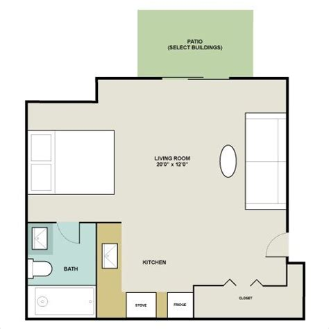 450 square feet 450 square feet 450 square foot apartment floor plan 450