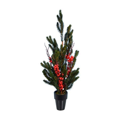fantastic christmas trees shop fantastic craft 1 8 ft slim artificial tree at lowes