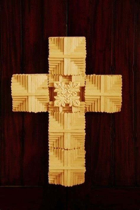 popsicle crafts projects popsicle stick cross 183 extract from the big book of