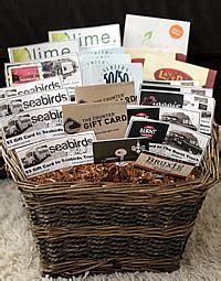 Bomgaars Gift Card - gift card basket
