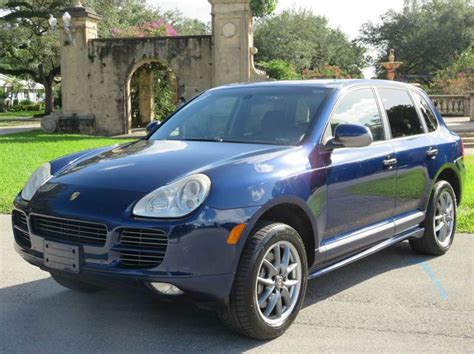 porsche cayenne 2006 for sale 2006 porsche cayenne for sale in florida carsforsale