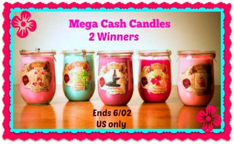 Mega Cash Giveaway - mega cash candle giveaway