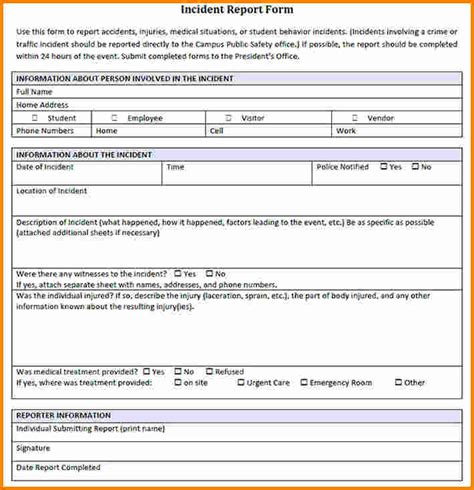 critical incident report template critical incident report template 28 images incident