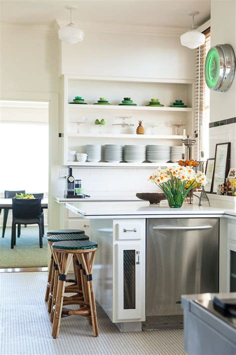 Decorating Ideas For Kitchen Shelves 12 Kitchen Shelving Ideas The Decorating Dozen Sfgirlbybay