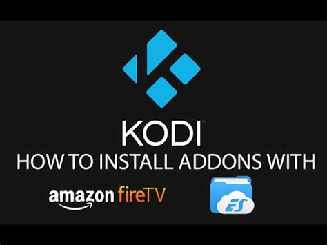 how to install new kodi jarvis in fire tv and fire stick update kodi on fire tv stick with google drive and es
