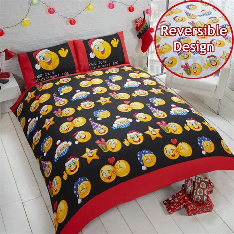 Bed Emoji by Emoji Duvet Cover Sets Single Smiley