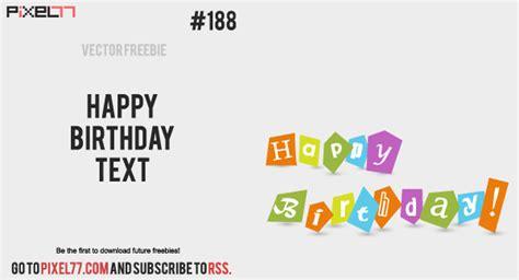 5 giorni testo vettore libero testo giorni buon compleanno