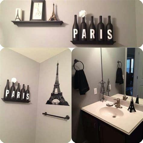 paris bathroom decor eiffel tavern bar pinterest