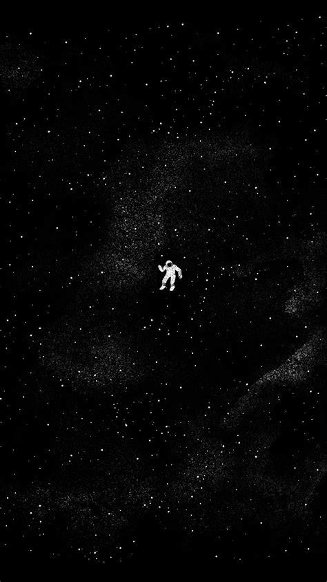 lonely astronaut amoledbackgrounds