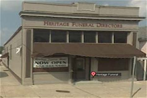 heritage funeral home new orleans louisiana la