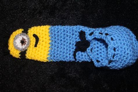 crochet willie warmer pattern crochet willy warmer minion themed crafts pinterest