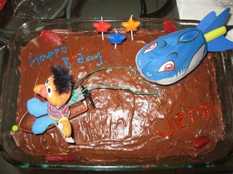 jaws boat cake jenn s birthday cake 2011