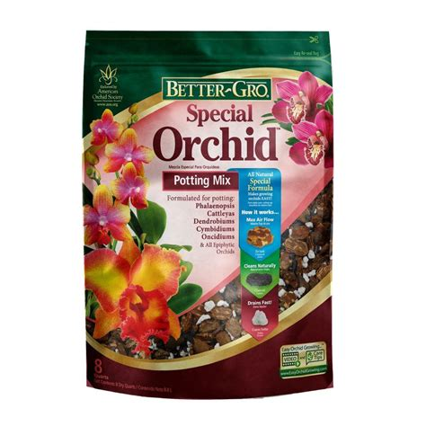 bett gro better gro 8 qt special orchid mix 50020 the home depot