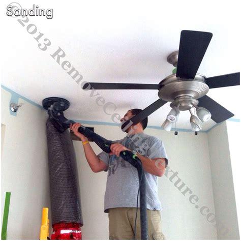 sanding ceiling texture removeceilingtexture