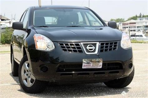2010 nissan rogue s awd cvt transmission cruise control purchase used 2010 09 nissan rogue s awd cvt automatic one owner black clean carfax in brooklyn