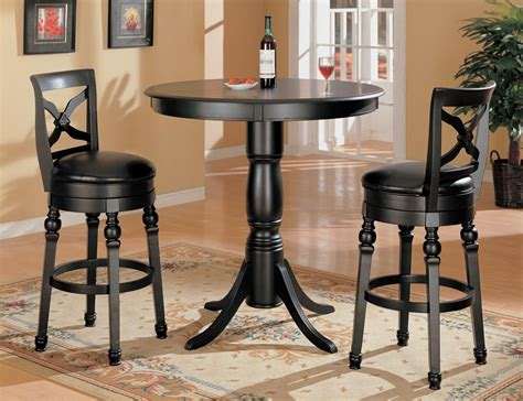 black counter height bar stools black finish bar counter height pub stool set 10027 from
