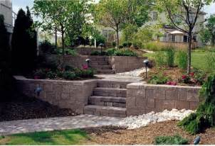 Retaining Wall Patio Ideas by Patio Landscaping Retaining Wall With Steps Modern