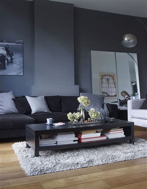 black and grey living room designs 36 stylish living room designs digsdigs