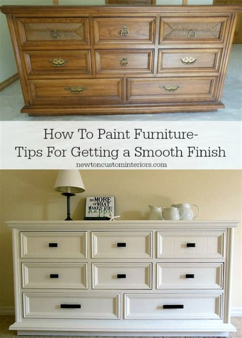 how to paint furniture newton custom interiors