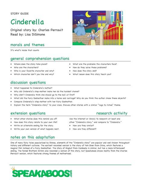 cinderella film quiz lesson plans cinderella speakaboos worksheets