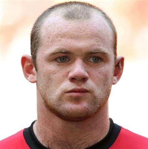 Pre Bald Brit Liar Liar Hair On by Hair Expert Reveals Wayne Rooney Should Ditch Burgers And