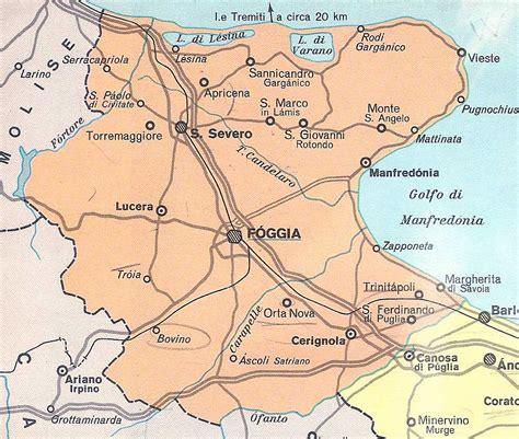 tavoliere delle puglie cartina cartina geografica foggia tiesby nelson