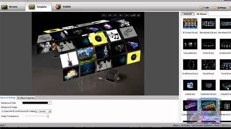 crear imagenes en 3d online gratis crear presentaci 243 n de fotos con audio en 3d con