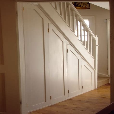Understairs Cupboard Door - how to build a closet a staircase design