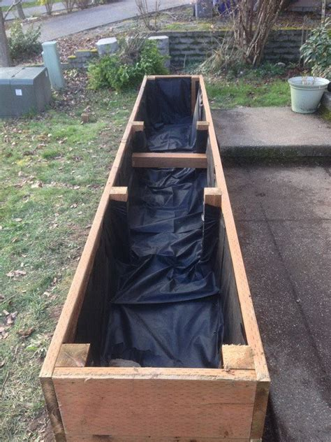 raised vegetable garden planter and plant bed liners youtube how to build a raised planter bed for under 50 for your