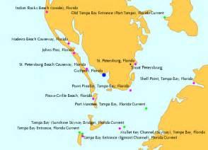map of ta area florida gulfport florida tide chart