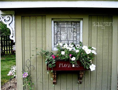 garden shed window box window boxes - Shed Window Boxes