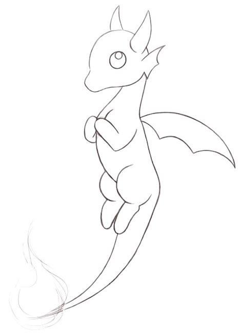 coloriage     dragon qui reste assis sur son post