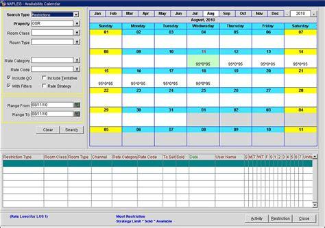 Availability Calendar Availability Calendar