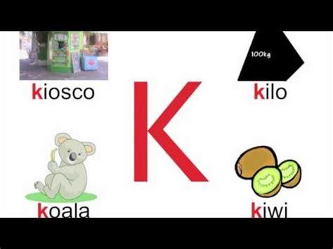 imagenes que comienzan con la letra k lengua y literatura actividades fonema k