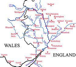 river thames drainage basin map river severn wikishire