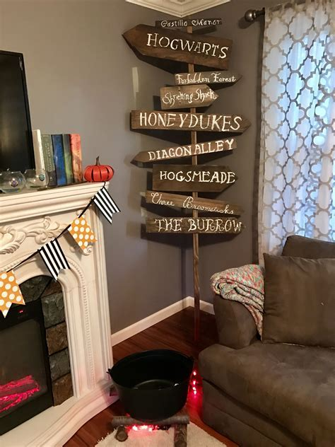 Creating Sparks Blog   Harry Potter Decor   Creating