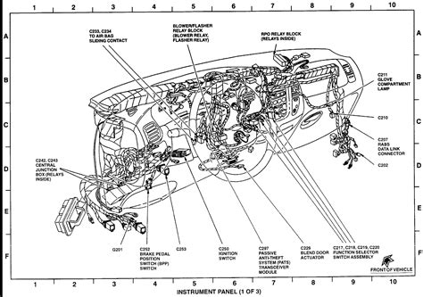 wiring diagram for 2002 mustang headlights