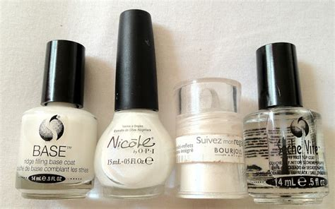 Seche Vite Base Coat By Opi Kutek secrets of a wannabe notd experimenting with