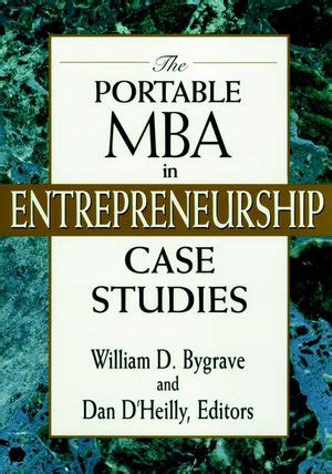 Titles In The Portable Mba Series by Wiley The Portable Mba In Entrepreneurship Studies