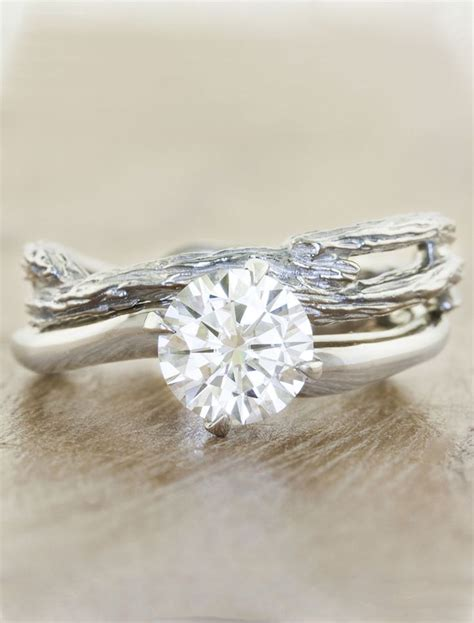 25 best ideas about organic engagement rings on