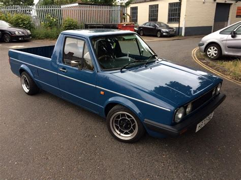 volkswagen caddy pickup mk1 mk1 caddy pick up in norwich norfolk gumtree
