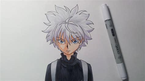 Drawing X by Drawing Killua Kirua Zoldyck X
