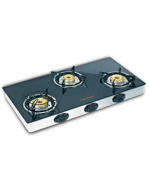 Oven Gas Butterfly buy butterfly 3 burner reflection gas stove best