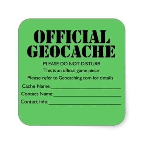 printable geocache label geocache label printable google search happy
