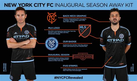 New York Away 2015 2016 footy news new york city fc 2015 mls home and away kits
