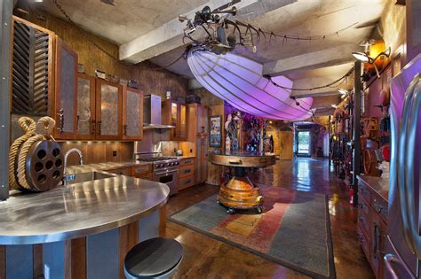 vintage home decor nyc retro futuristic steunk loft apartment in new york