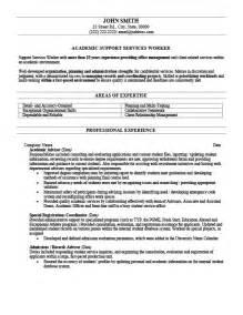 academic advising cover letter academic advisor resume template premium resume sles
