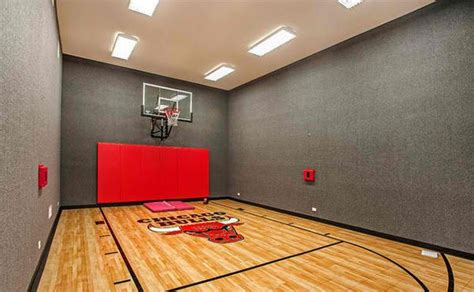 Tri Level House Floor Plans 15 Ideas For Indoor Home Basketball Courts Home Design Lover