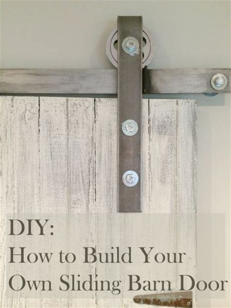 How To Make Your Own Sliding Barn Door Learn How To Make Your Own Sliding Barn Door All I Did Was Buy A Door From An Antique Show