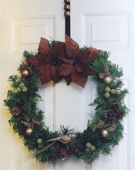 How To Make Handmade Wreaths - easy diy wreath 100 days of